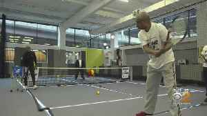 New Program Helping Visually Impaired Play Tennis [Video]