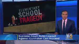News video: Sandy Hook Lawsuit Against Gun Maker Can Proceed