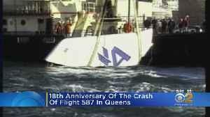 Memorial Held For Flight 587 Crash [Video]