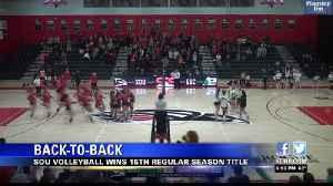 SOU volleyball wins second-straight CCC regular-season title [Video]
