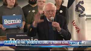 Bernie Sanders makes his way to North Iowa [Video]
