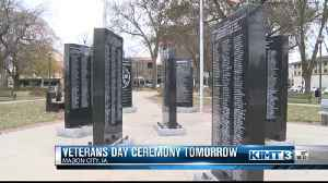 Preparing for Veterans Day events [Video]