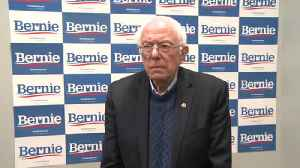 1-on-1 with Bernie Sanders during north Iowa stop [Video]