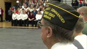 Students at South Vermillion honor veterans in ceremony [Video]
