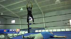 In Your Shoes: Jaylon Morris takes on the routine of a professional wrestler [Video]