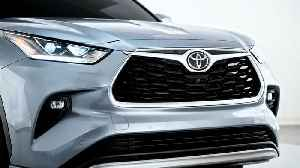 The new Toyota Highlander Exterior Design [Video]