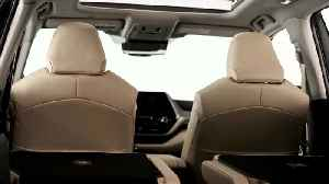 The new Toyota Highlander Interior Design [Video]