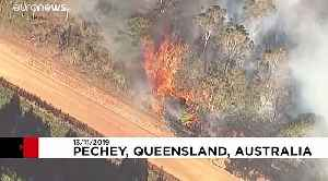 Water-bombing helicopter crashes in wildfire-hit Australia