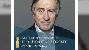 Robert De Niro to receive Hollywood Acting Union's top honour [Video]