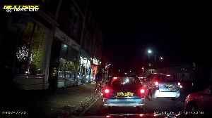 Bristol driver violently swerves sending cyclist flying over bonnet onto tarmac [Video]
