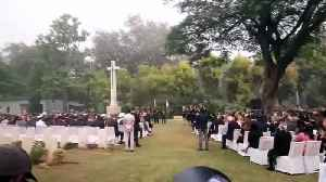 Prince Charles visits Delhi War Cemetery on two-day India trip [Video]