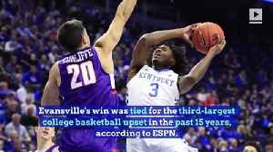 Evansville Defeats No. 1 Kentucky in Historic Upset [Video]