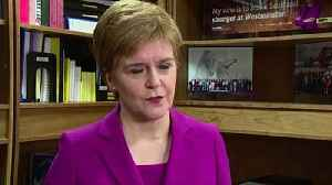Sturgeon: I won't help Labour into No. 10 without indyref2 [Video]