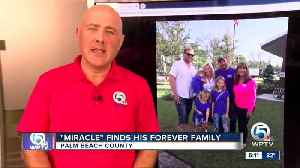 'Miracle' finds his forever family [Video]