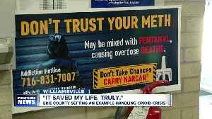 """""""It saved my life. Truly."""" Erie County leading the way in dealing with the opioid crisis [Video]"""