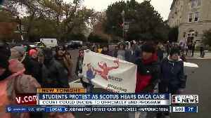 UNLV students rally in support of DACA program [Video]