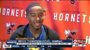 5-star prospect Bryce Thompson commits to play for the Kansas Jayhawks [Video]