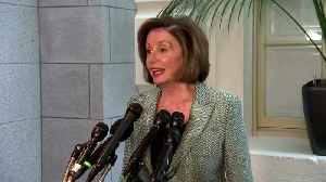 Pelosi 'prayerful' as impeachment hearings begin [Video]