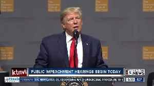 Public impeachment hearings [Video]