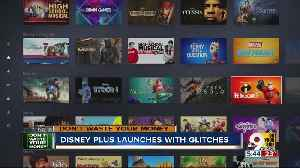 News video: Disney Plus launches...but with some glitches