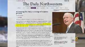 Northwestern Newspaper For Apologetic Editorial, Angering Journalists [Video]