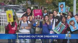 Bay Area High Schoolers Walk Out Of Class To Support DACA Dreamers [Video]