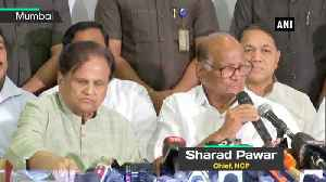 News video: Will take decision to support Shiv Sena after discussions with Congress Sharad Pawar