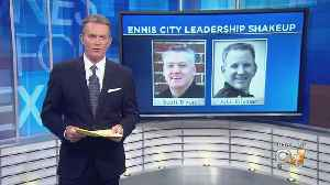 1 Ennis City Leader Resigns, 1 Retires [Video]