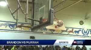 Murrah edges Brandon in overtime in hoops [Video]