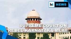 Rebel Karnataka MLAs: Key takeaways from the Supreme Court's order [Video]