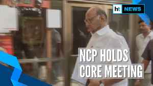 NCP holds core meeting day after President's rule imposed in Maharashtra [Video]