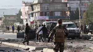 News video: Kabul car bomb targets Afghan interior ministry killing seven