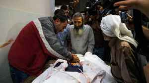 Palestinian death toll from Israeli air raids rises