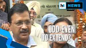 'Will extend odd-even scheme if required': Arvind Kejriwal [Video]