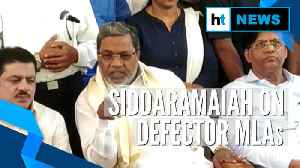 People's court will punish rebel MLAs: ex-CM Siddaramaiah after SC ruling [Video]