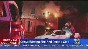 ATF, Worcester Police Called In After Overnight Fire Guts Home [Video]