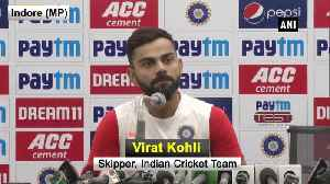 Day-night' format new way to bring excitement to Test cricket Virat Kohli [Video]