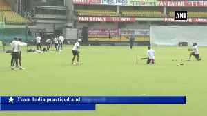 Ind vs Ban 'Men in Blue' gear up for first test in Indore [Video]