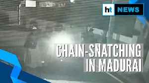 Watch: Chain-snatching in Tamil Nadu's Madurai caught on camera [Video]
