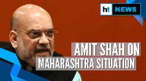 Childish arguments by Congress on President's rule: Amit Shah on Maharashtra [Video]