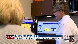 Exercise, diet may impact risk of Alzheimer's [Video]