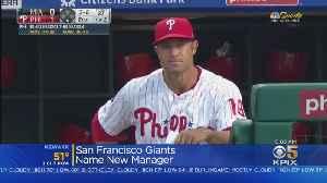 Giants Name Gabe Kapler As New Manager [Video]