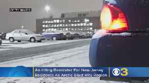 An Idling Reminder For New Jersey Residents As Arctic Blast Hits Region [Video]