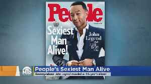 John Legend Named People's 'Sexiest Man Alive' [Video]