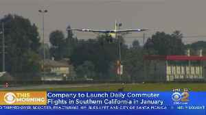 Startup Looking To Fly Commuters Over SoCal Traffic [Video]