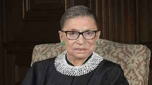 News video: Ruth Bader Ginsburg Sits Out Supreme Court Arguments Due To Illness