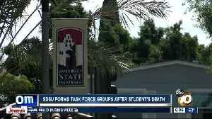 SDSU forms task force groups following death of student [Video]