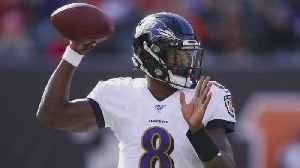 QB Lamar Jackson Named AFC Offensive Player Of The Week For Second Consecutive Week [Video]