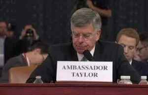 'Ukraine is important to the security of the United States,' Taylor testifies [Video]