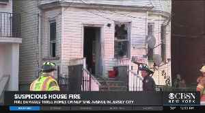 Suspcious House Fire Burns 4 Buildings In Jersey City [Video]